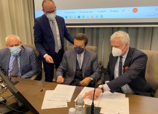 Firmata la Convenzione per il potenziamento della terapia intensiva dell'ospedale dell'Aquila