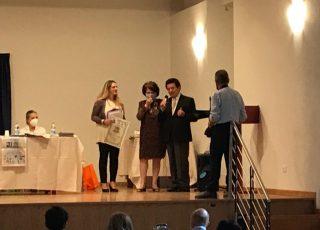 Al Presidente della Fondazione Carispaq Domenico Taglieri il Premio Eccellenze Italiche di Casa Ovidio